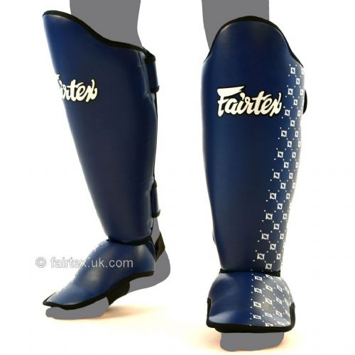 Fairtex SP5 Shin Guards - Blue